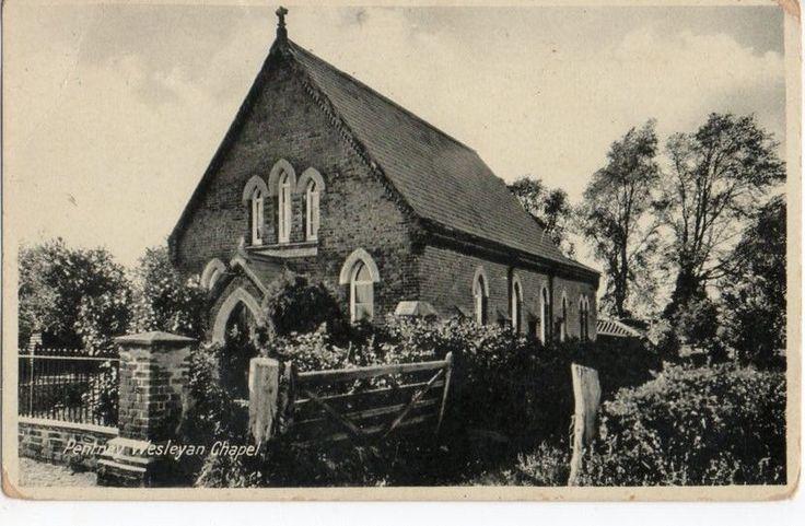 WESLEYAN CHURCH PENTNEY POSTCARD NORFOLK VERY RARE | eBay
