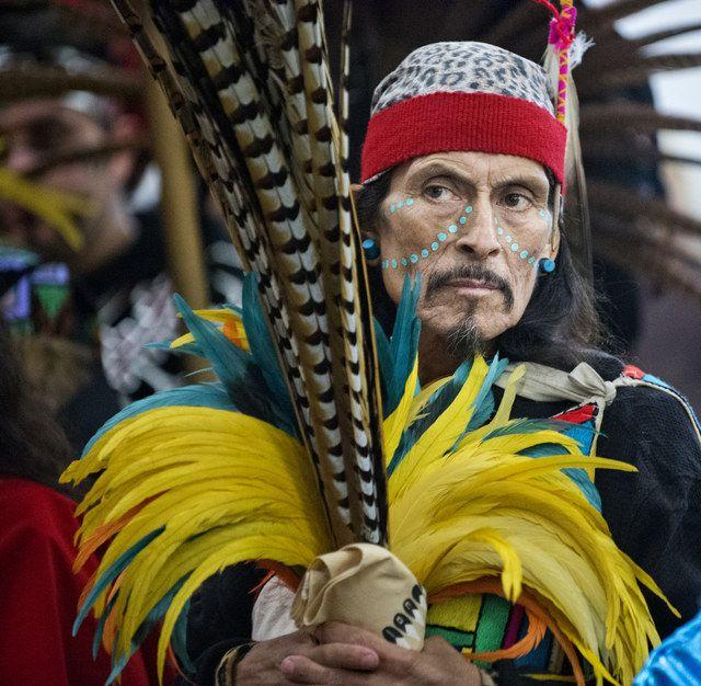 Aztec dancers honor La Virgen de Guadalupe | Sacramento, California, December 12, 2013