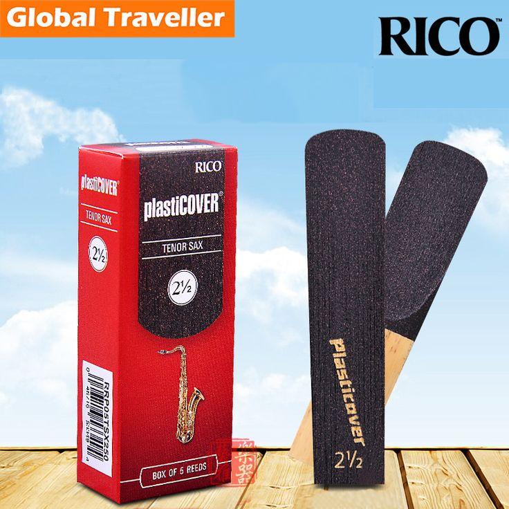 RICO Plasticover Bb Tenor Sax Reeds strength 2.5/3/3.5 for