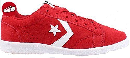 CONVERSE SCHUHE ONE STAR ALLSTON OX ROT RED LEDER 621688 ALL CHUCKS GR:37 - Converse schuhe (*Partner-Link)