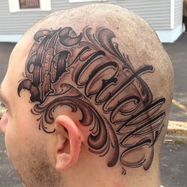 17 best images about referencia letras on pinterest for Stone tattoo letters