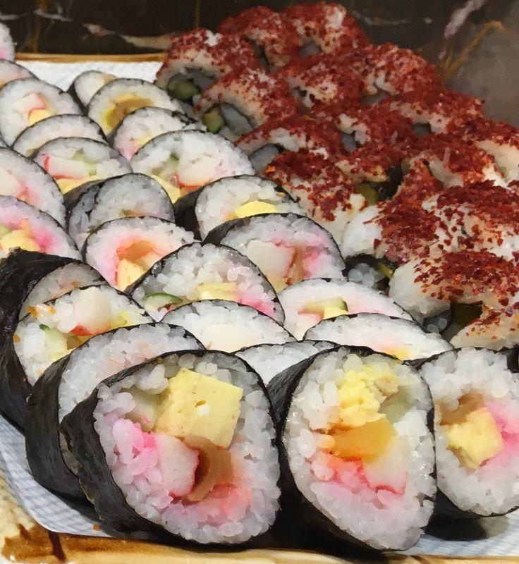 #sushi #maki #Japanese #yakimix