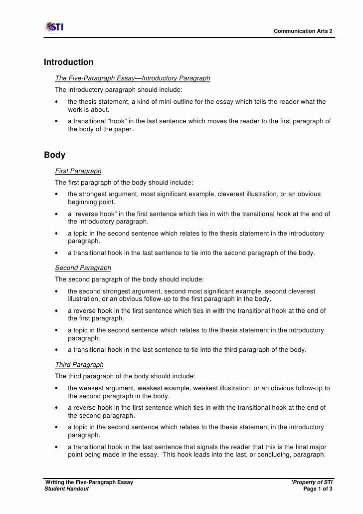Resume In Paragraph Form Awesome Sample Five Paragraph Essay Outline Writing A Persuasive Essay Introductory Paragraph Paragraph Essay