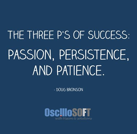 Without the 3 P's, how else will you #succeed?