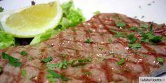 Bistecche di manzo marinate al prezzemolo