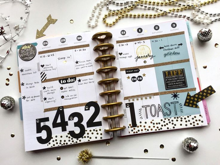 The Happy Planner™ | NYE Countdown