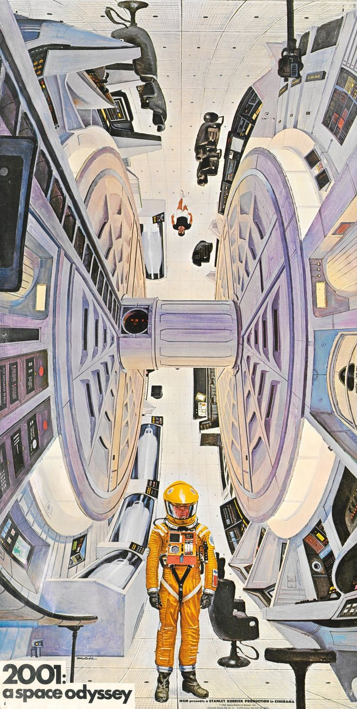 2001: A Space Odyssey (1968) limited edition print