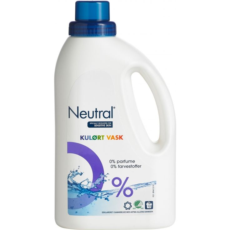 Neutral Nestemainen Kirjopesuaine 940 ml