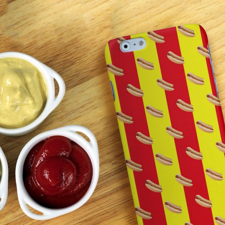 #Cover #iPhone #Hotdog #fastfood http://www.creatink.com/product/iphone-cover-case/hotdog-2/