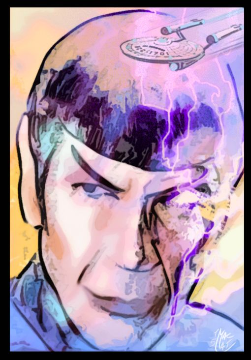 Tribute for a last voyage of Mr Spock!