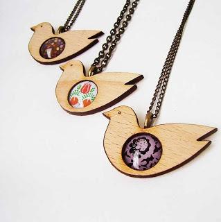 Bird necklaces (schall eszter)