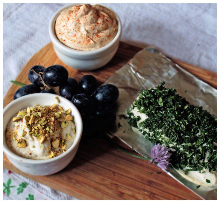 Przepis na kremowy ser z orzechów nerkowca.