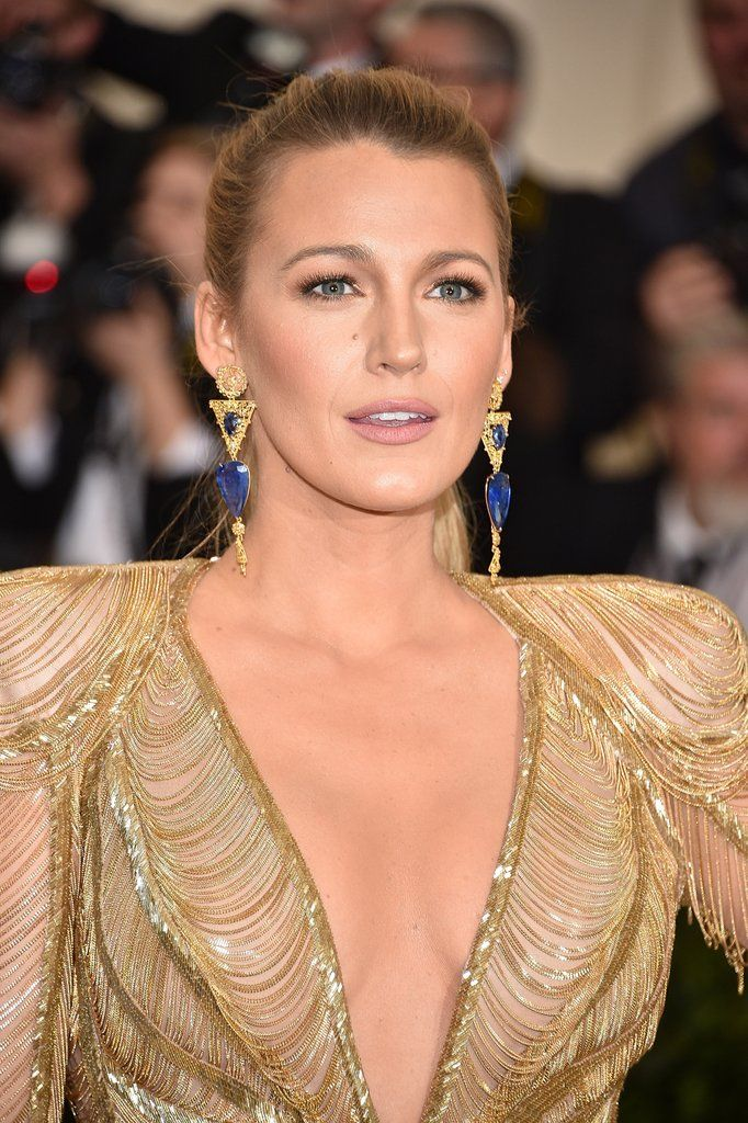 Blake Lively Wore One Perfect Ponytail to the Met Gala