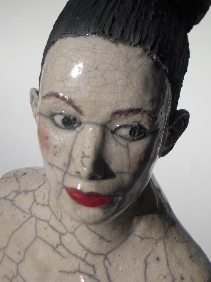 Melanie Bourget ceramic sculpture