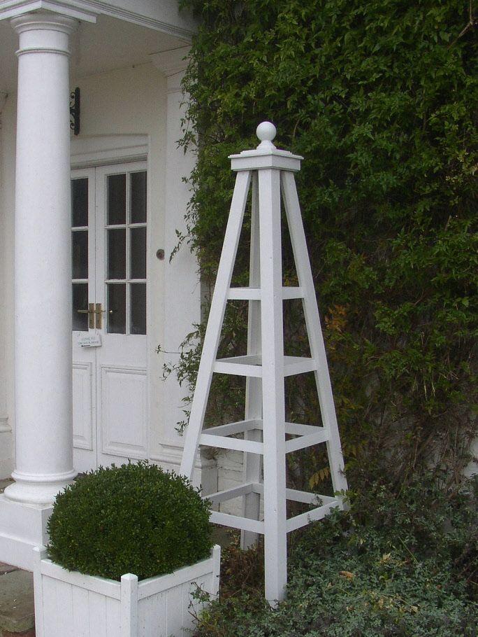 Garden Obelisk Trellis | CDxND.com   Home Design In Pictures