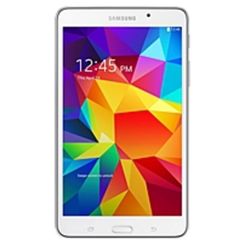 Samsung Galaxy Tab 4 SM-T230 8 GB Tablet - 7 - Wireless LAN Quad-core (4 Core) 1.20 GHz - White - 1.50 GB RAM - Android 4.4 KitKat - Slate - 1280 x 800 16:10 Display - Bluetooth - GPS - Front Camera/Webcam - 3 Megapixel Rear Camera - Quad-core (4 Cor
