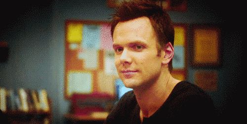 "THE GODDAMN LOOK. | 15 Reasons Jeff And Annie From ""Community"" Are Perfect Together"