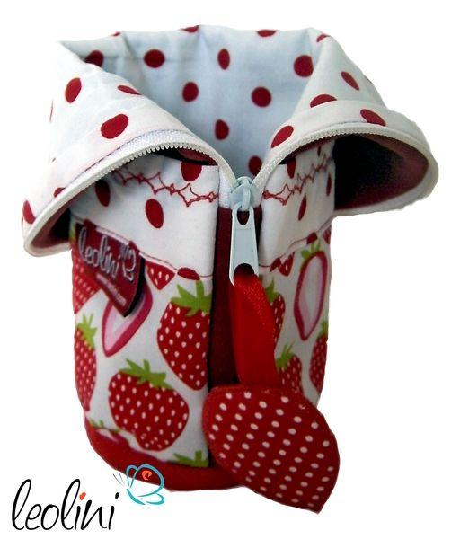 Lust auf Erdbeeren? Federmäppchen von Leolini