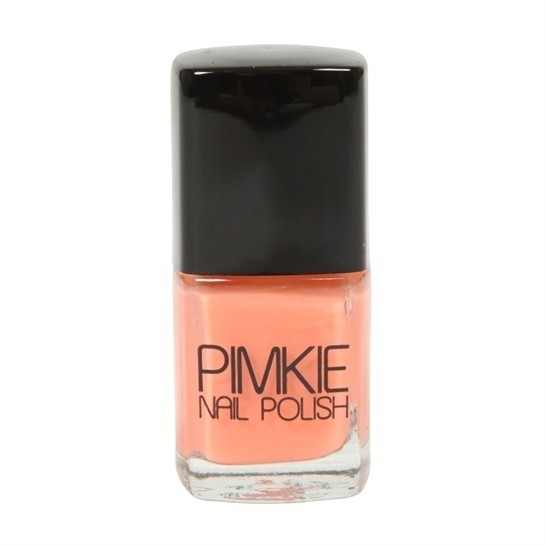 Vernis à ongles pêche fluo #Pimkie #Fluo