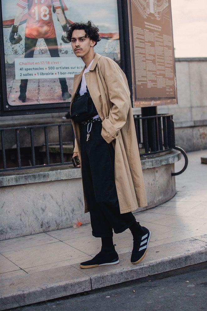 Street Style à La Fashion Week Homme Printemps été 2019 à Paris