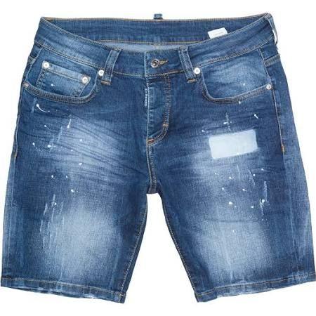 My Brand is een erg leuk merk voor dames en heren. Ook deze korte broek is nu met 31% afgeprijsd #mode #heren #mannen #shorts #jeans #denim #sale #uitverkoop #spijkerbroek #lente #zomer