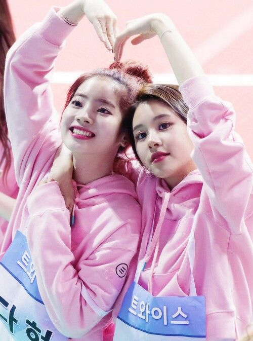 Dahyun and Chaeyoung