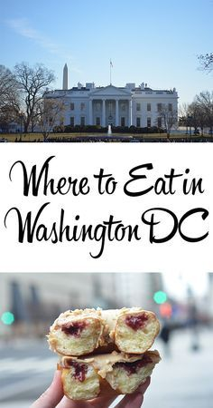 Find out 5 of the best places to eat in Washington DC including where I found the world's best chilli and this incredible PB&J donut!