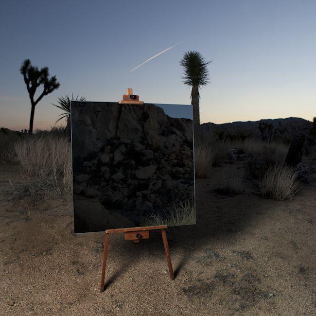 mirroir desert 03 Des miroirs dans le désert  photographie bonus art