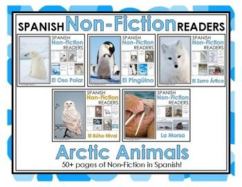 Arctic Non-Fiction Spanish Readers