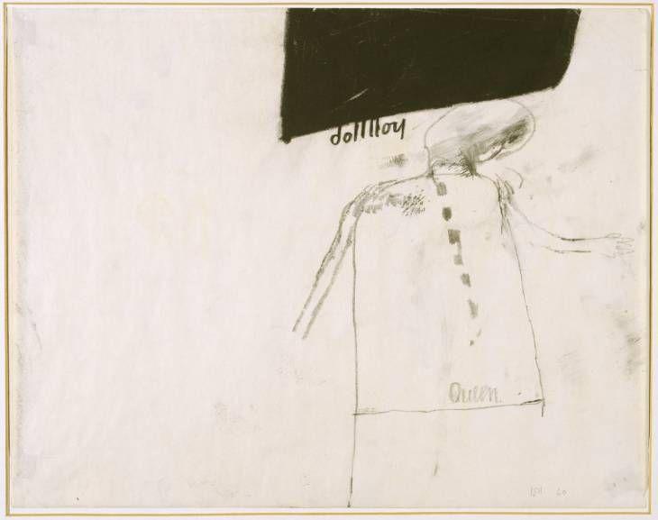 Study for Dollboy, David Hockney, 1960