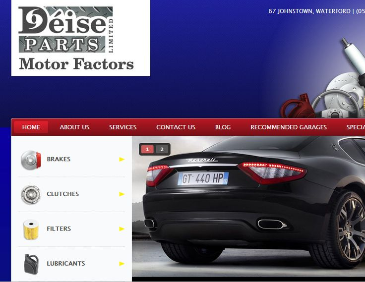 Deise Parts - Keyword research - Brand You