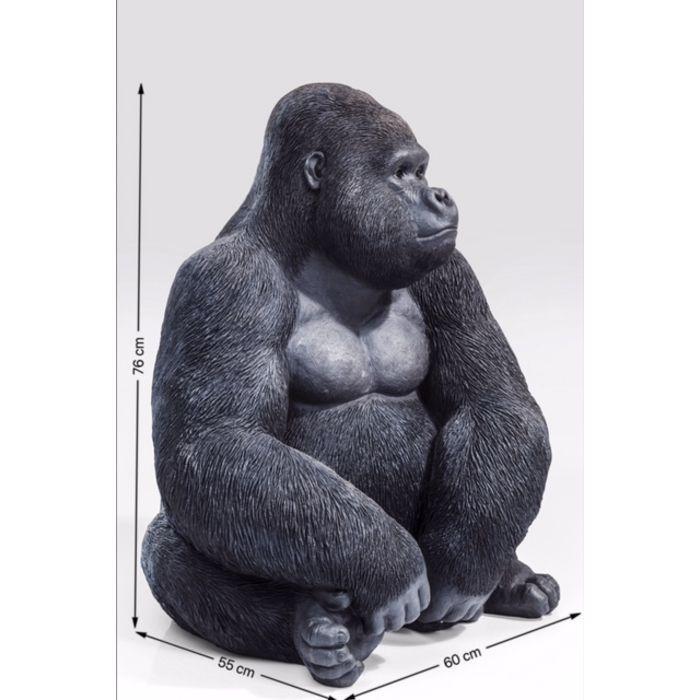 Décoration de Jardin Singe grimpant en résine pour Sapin