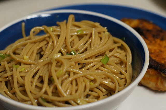 Simple Sesame Noodles #recipe | Sockmonkey Sweets & Eats | Pinterest