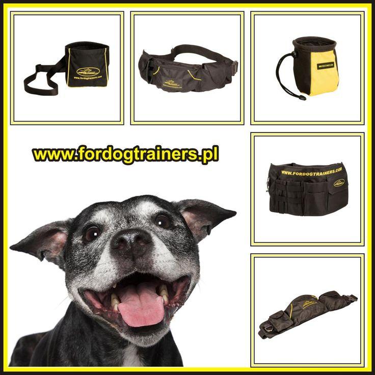 Dzięki regulowanemu paskowi, torebka na smakołyki dla psa jest wygodna do noszenia - jest regulowana w zakresie 70-130 cm.