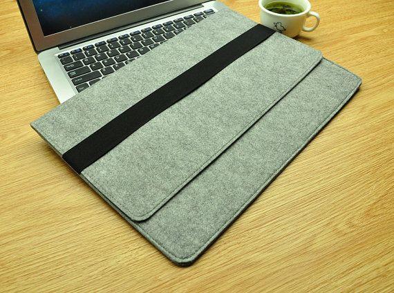 Macbook 15 inch case Pro Retina sleeve Floral laptop by TopFelt