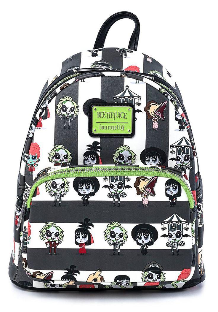 Loungefly beetlejuice chibi mini backpack forever