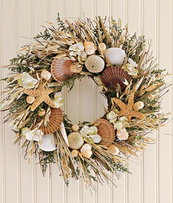 Bring a bit of New England to your home with this wreath from Country Curtains.