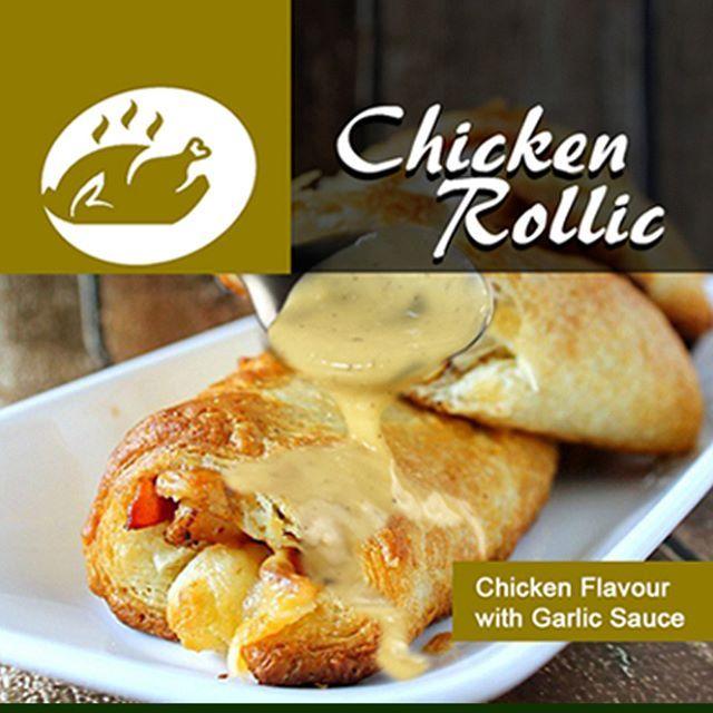 """Rocket """"Roll"""" Pizza dengan isi daging ayam, Chicken Mince Garlic Sauce, Italian Herbs, Onion, Green Paprika, Yellow Cheese Cream, Chedar,  Mozzarella dan campuran  bahan-bahan segar  berkualitas.  Panjang: 30 Cm Berat: 300 gram. Kondisi: Frozzen ( 2 Bulan). Re-Heat: Defrost hingga suhu ruang. Oles butter/margarine lalu panaskan dengan Oven, Microwave atau Teflon.  Saran Penyajian:Sajikan panas. Potong maksimal menjadi 8 slices #Rocketpizzaindonesia #rocketpizza Order: 081312522554 (WA)"""