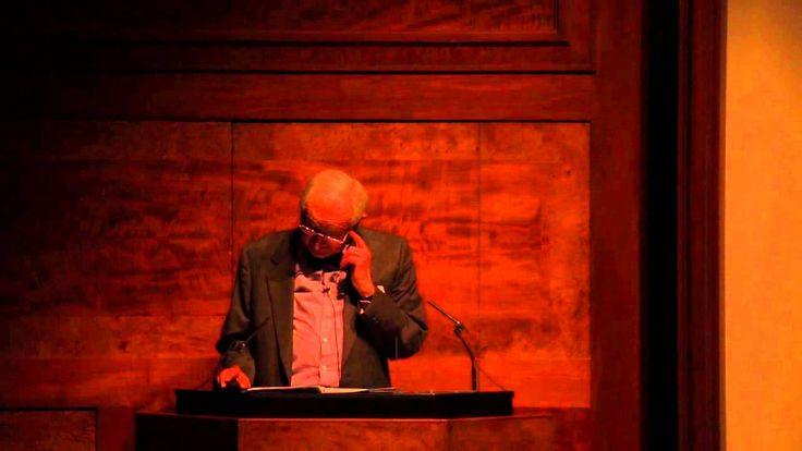 Royal Gold Medal Lecture 2014 - Joseph Rykwert: part 1