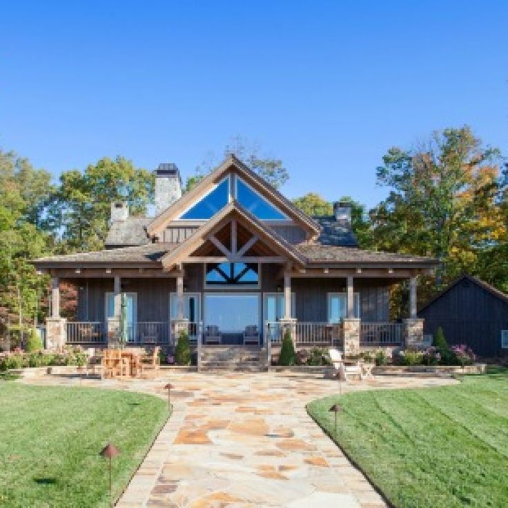 A Tennesse Timber Frame Hybrid Home 25