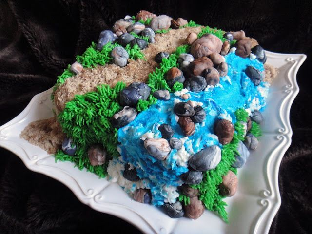Worth Pinning: Trail Cake - TUTORIAL