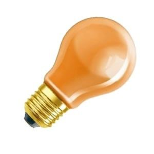 Standaard-lamp 15 watt E27 oranje