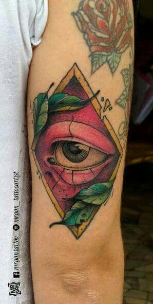 #occhio #eye #eyetattoo #colortattoo #tattooed #tattoo #ink #inked #ntgallery #inkedmag #tattoomag #mrgan #tattooartist #tattooedgirls