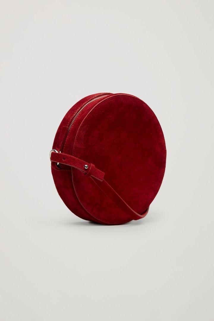 COS | Circular leather bag