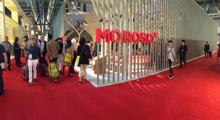 I can only say that I love Moroso #MilanoDesignWeek