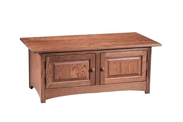 Amish Shaker 2 Door Coffee Table Door Coffee Tables Shaker Style Furniture Amish Furniture