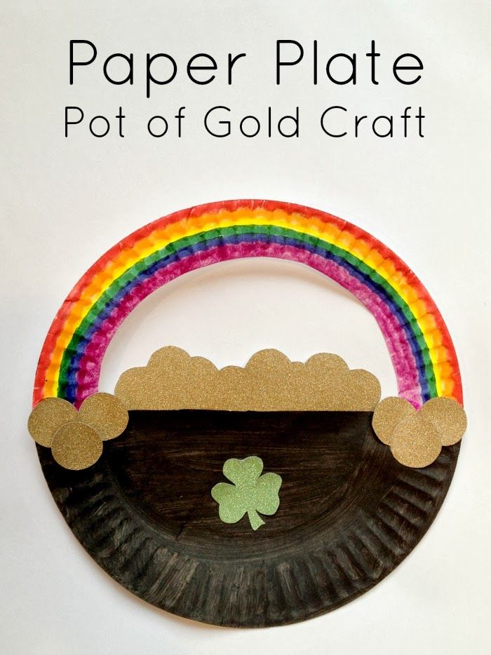 Easy Paper Plate Craft for St. Patrick's Day