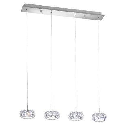EGLO 39007 CORLIANO CRYSTAL PENDANT LAMP