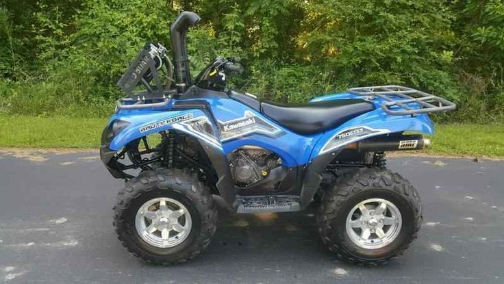 Used 2014 Kawasaki Brute Force 750 4x4i ATVs For Sale in North Carolina. 2014 Kawasaki Brute Force 750 4x4i, VERY NICE USED UNIT WITH LOW MILES. BE THE FIRST TO GET A DEAL TODAY! 2014 Kawasaki Brute Force® 750 4X4i Powered by a 749cc, 90-degree V-twin, the Brute Force® 750 4x4i serves up the perfect recipe of amazing torque and impressive strength to devour just about any obstacle the trail will throw at it. Kawasaki® s flagship ATV showcases the trickest technology in everything from its…
