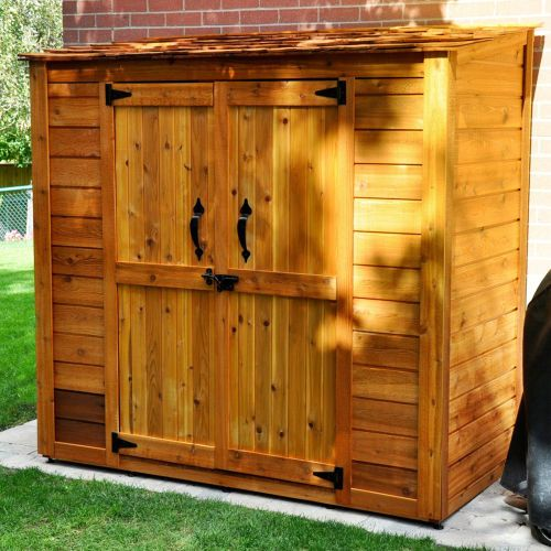 6 x 3 grand garden chalet wood storage shed 949 - Garden Sheds 6 X 3